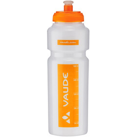 VAUDE Sonic Vannflaske 750ml Orange/Transparent